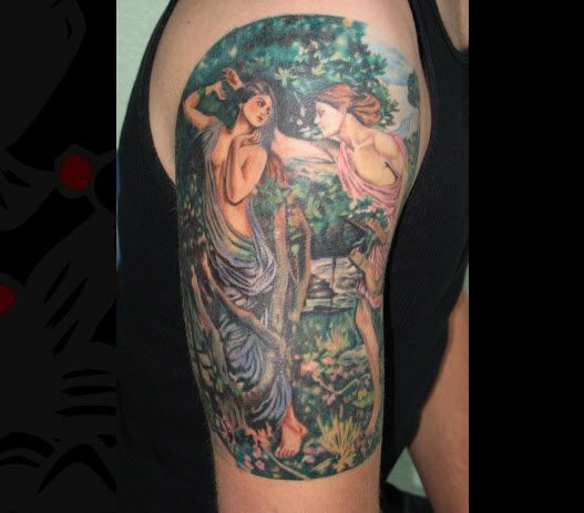 Mythological Tattoo Designs.26
