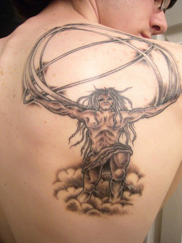 Mythological Tattoo Designs.9