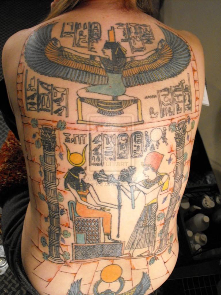 egyptian tattoos.46