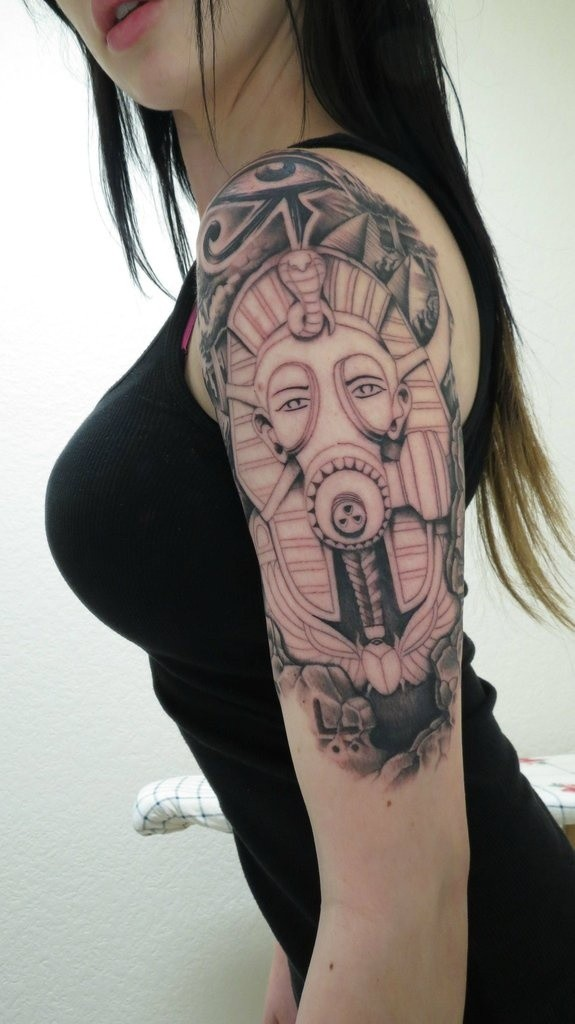 egyptian tattoos.60