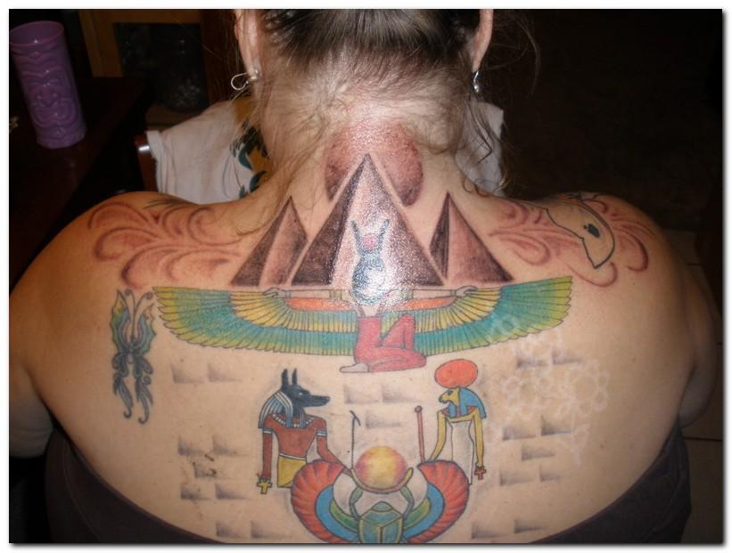 Egyptian tattoo designs for girls
