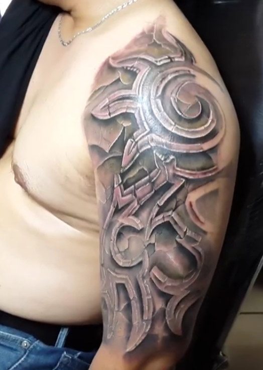 3D Tribal Tattoos