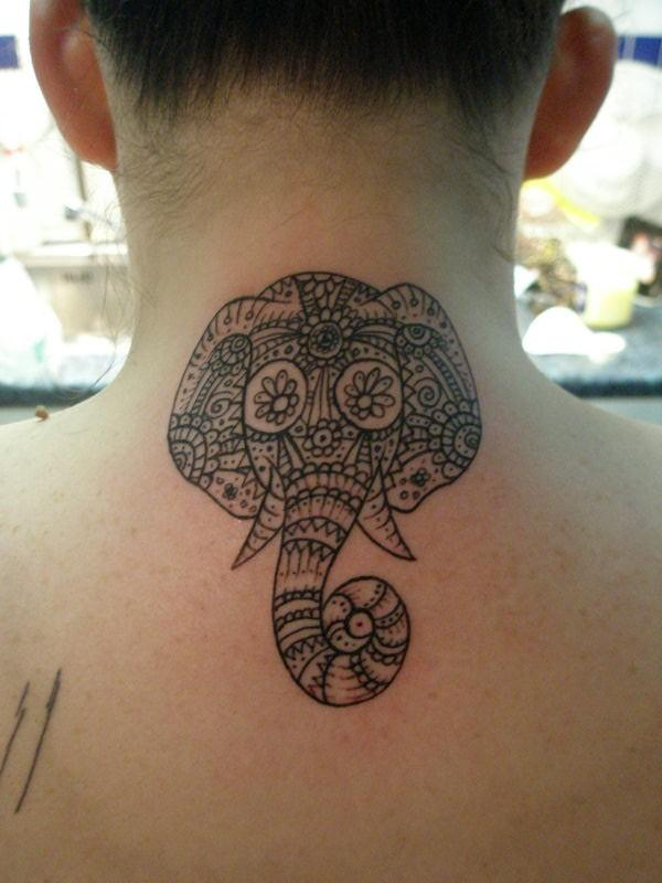 Elephant tattoos-17