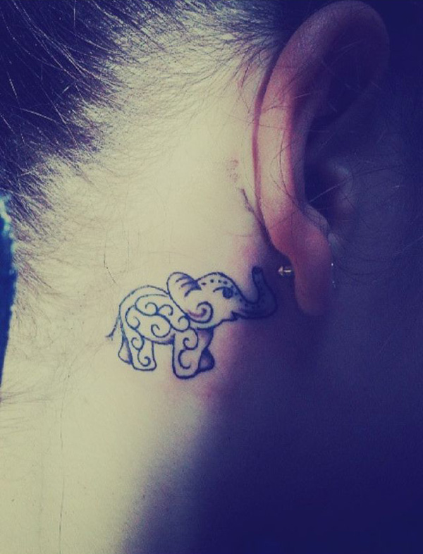 Elephant tattoos-19