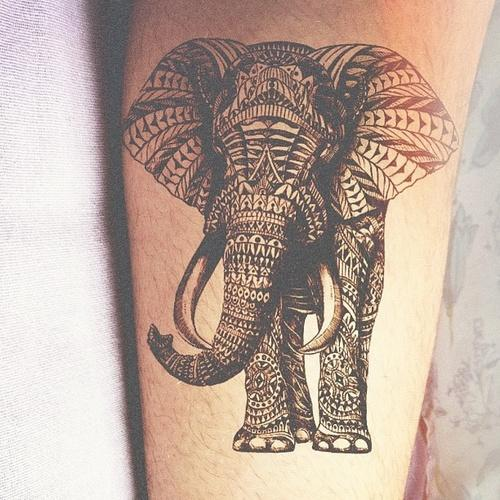 Elephant tattoos-23