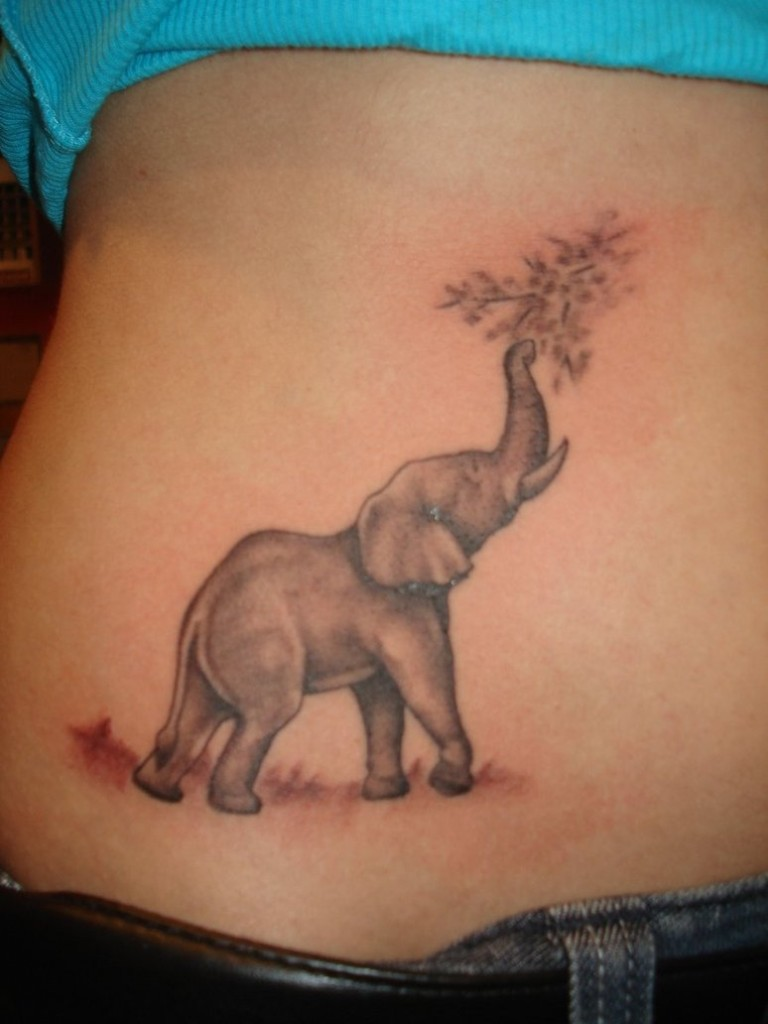 Elephant tattoos-29