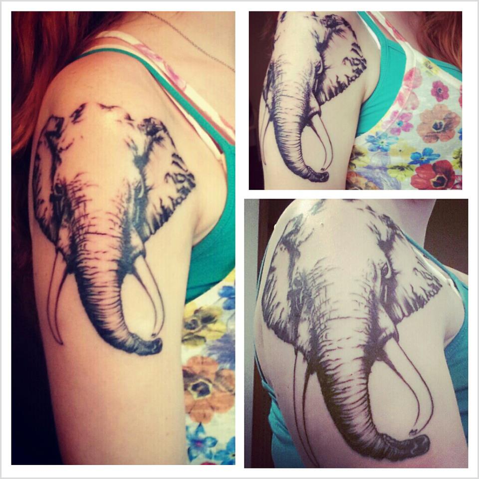 Elephant tattoos-30