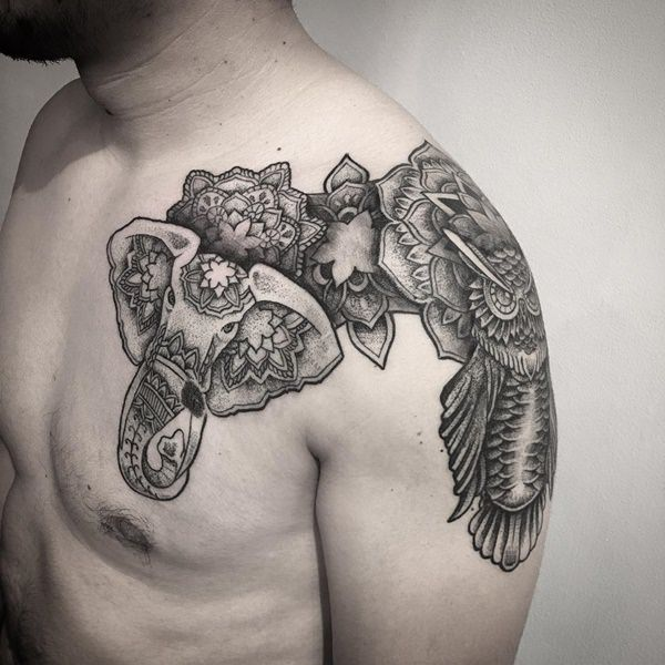 Elephant tattoos-4