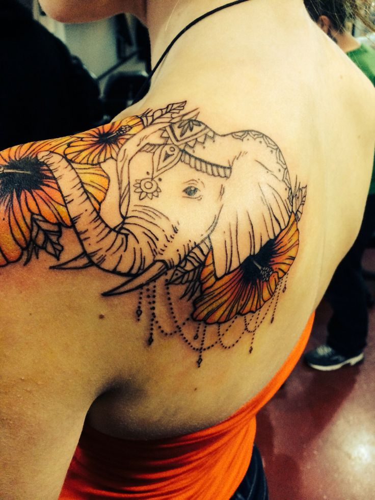 Elephant tattoos-45