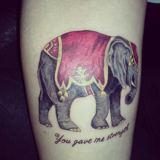 Elephant tattoos-46