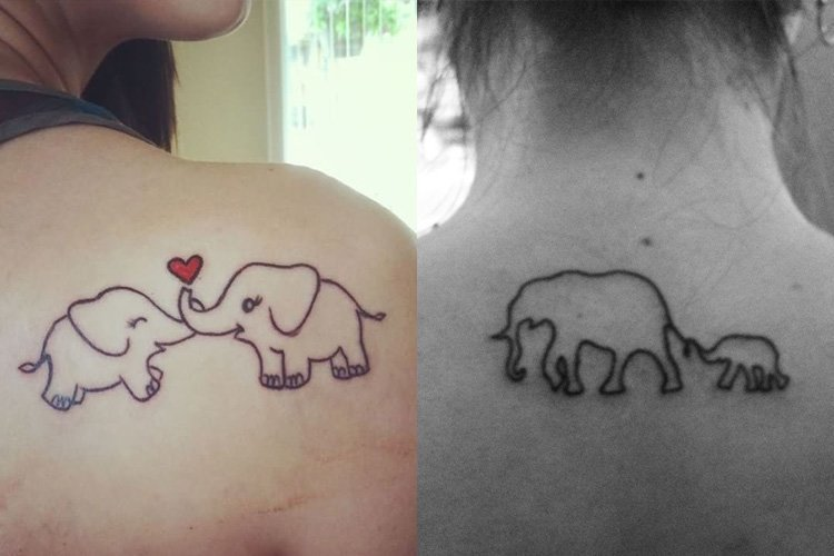 Elephant tattoos-47