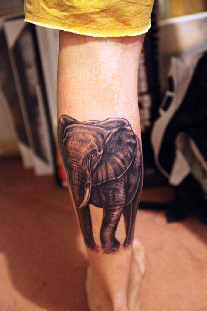 Elephant tattoos-52