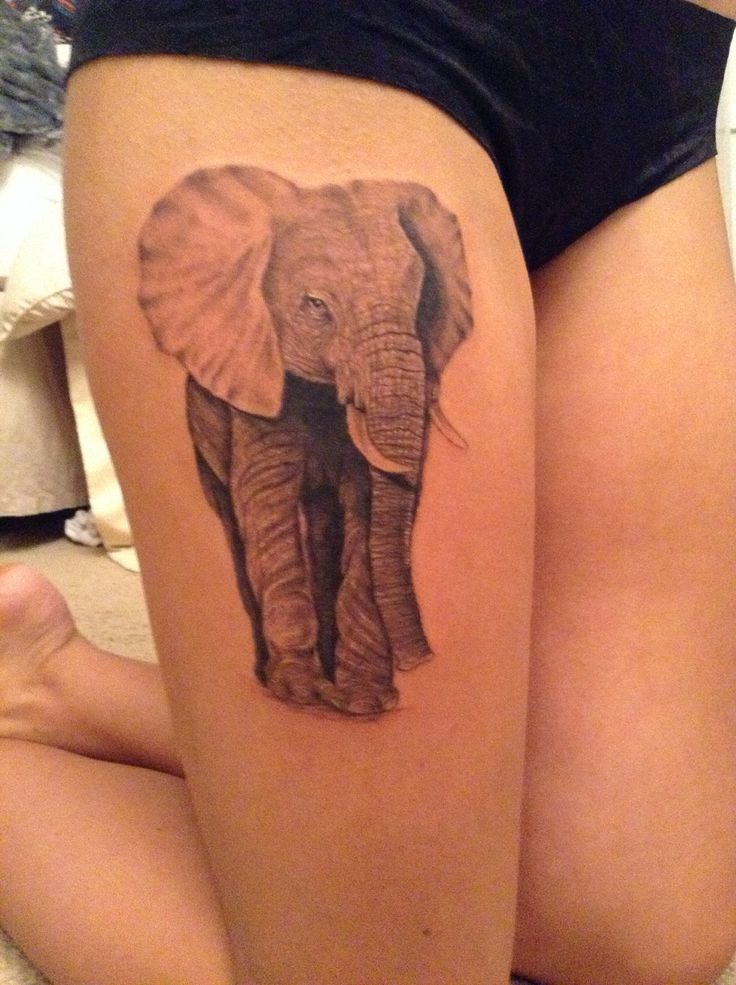 Elephant tattoos-59
