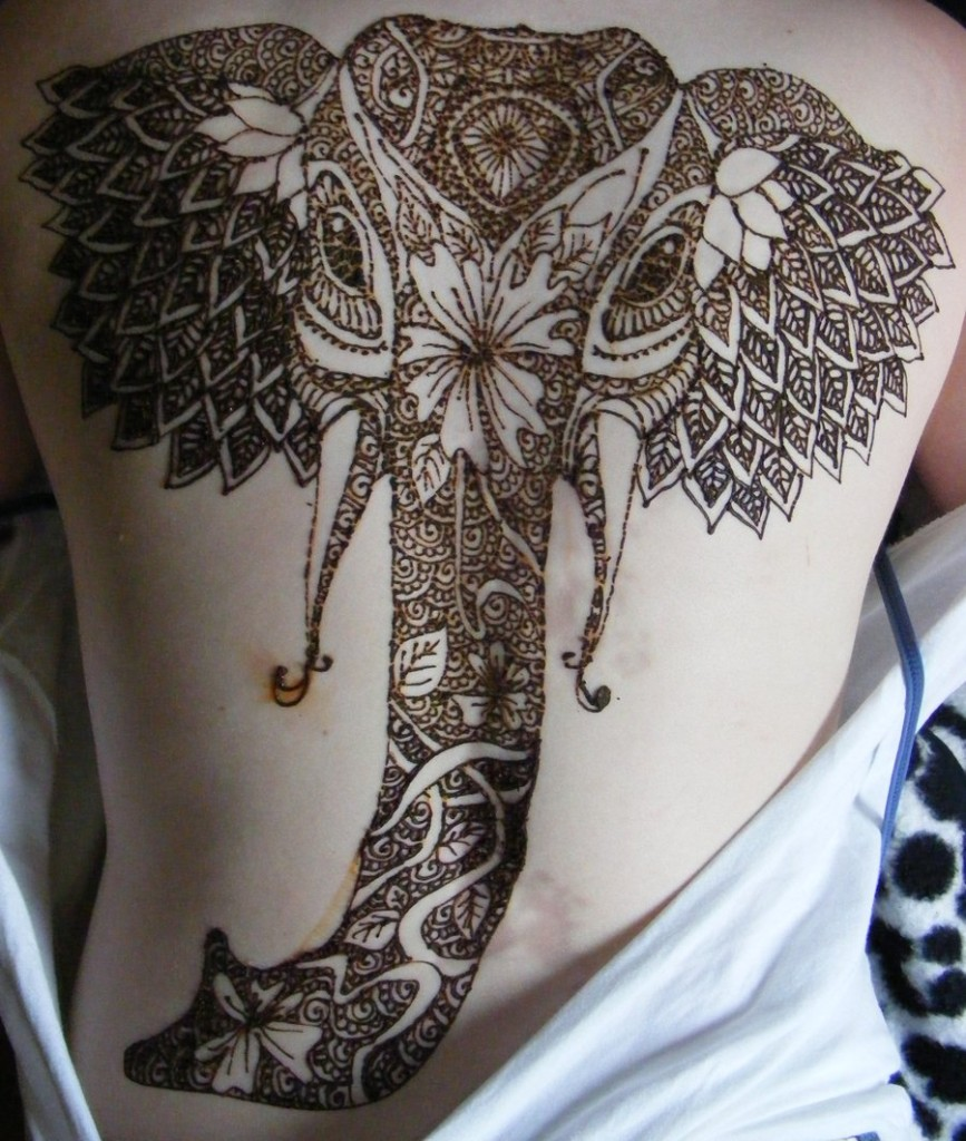 Elephant tattoos-65