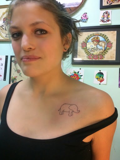 Elephant tattoos-72