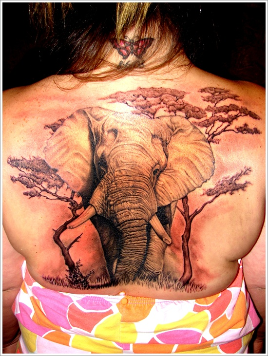 Elephant tattoos-77