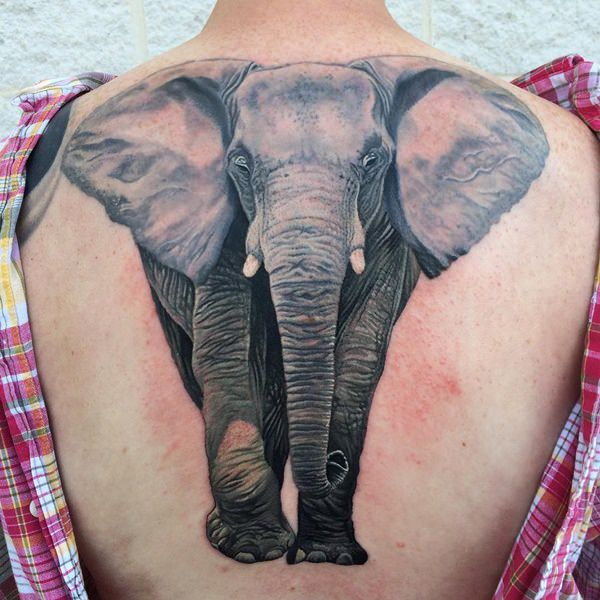 Elephant tattoos-80