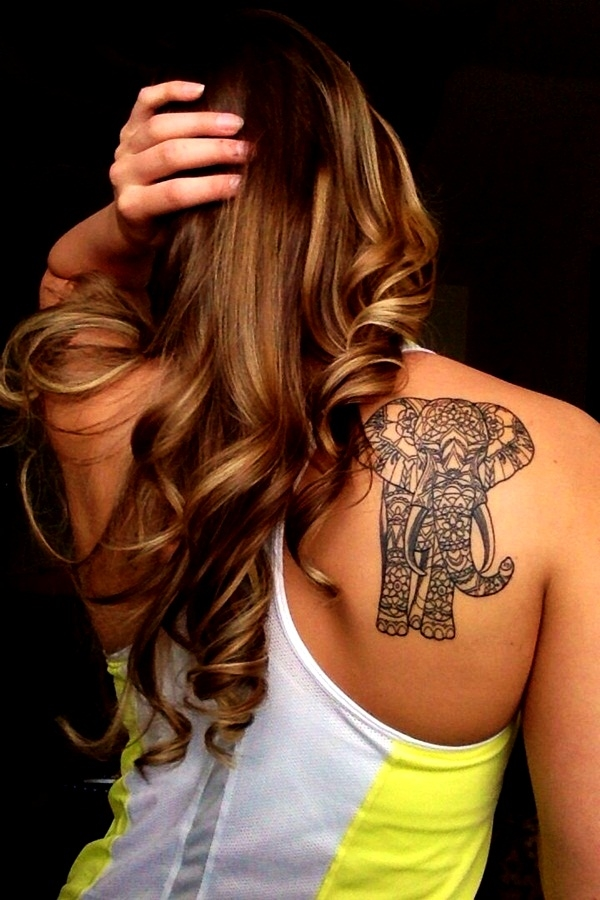 Elephant tattoos-83